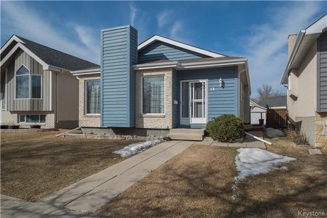 Main Photo: 16 Rothshire Drive in Winnipeg: Canterbury Park Residential for sale (3M)  : MLS®# 1809176