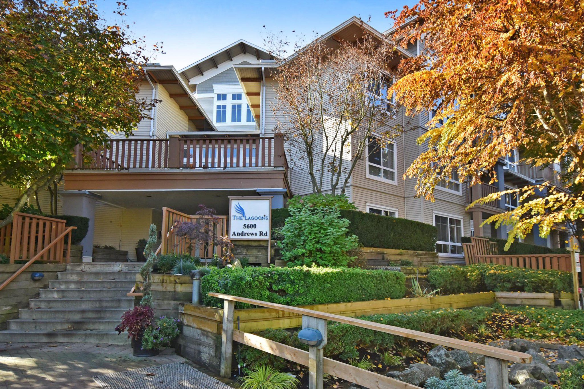 """Main Photo: 231 5600 ANDREWS Road in Richmond: Steveston South Condo for sale in """"THE LAGOONS"""" : MLS®# R2316743"""