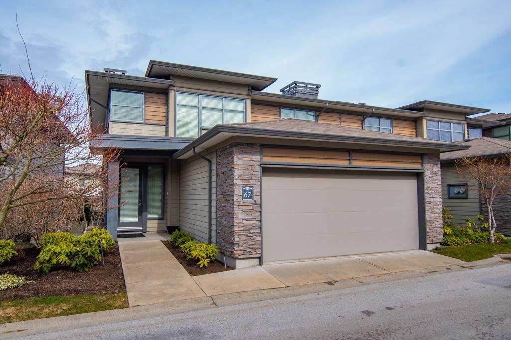 "Main Photo: 67 2603 162 Street in Surrey: Grandview Surrey Townhouse for sale in ""Vinterra"" (South Surrey White Rock)  : MLS®# R2348771"