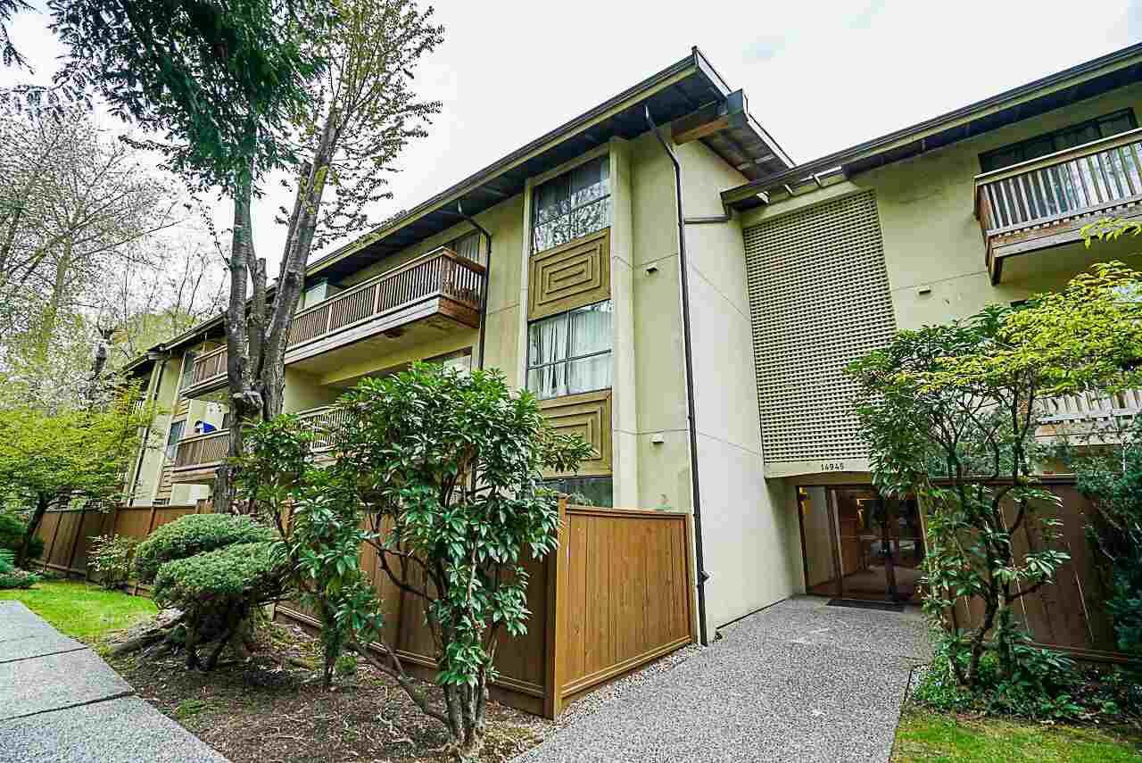 "Main Photo: 204 14945 100 Avenue in Surrey: Guildford Condo for sale in ""FOREST MANOR"" (North Surrey)  : MLS®# R2360028"