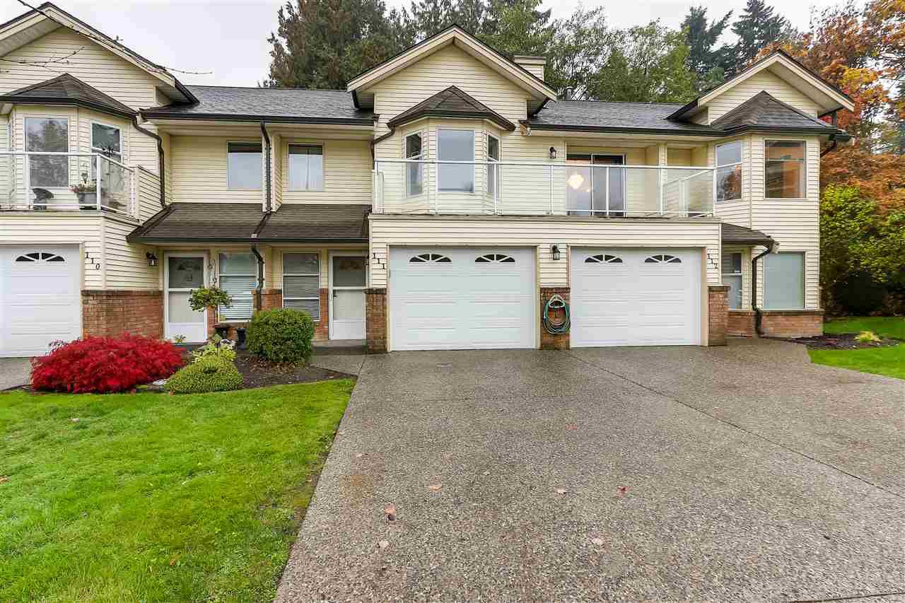"Main Photo: 111 6841 138 Street in Surrey: East Newton Townhouse for sale in ""Hyland Creek"" : MLS®# R2376717"
