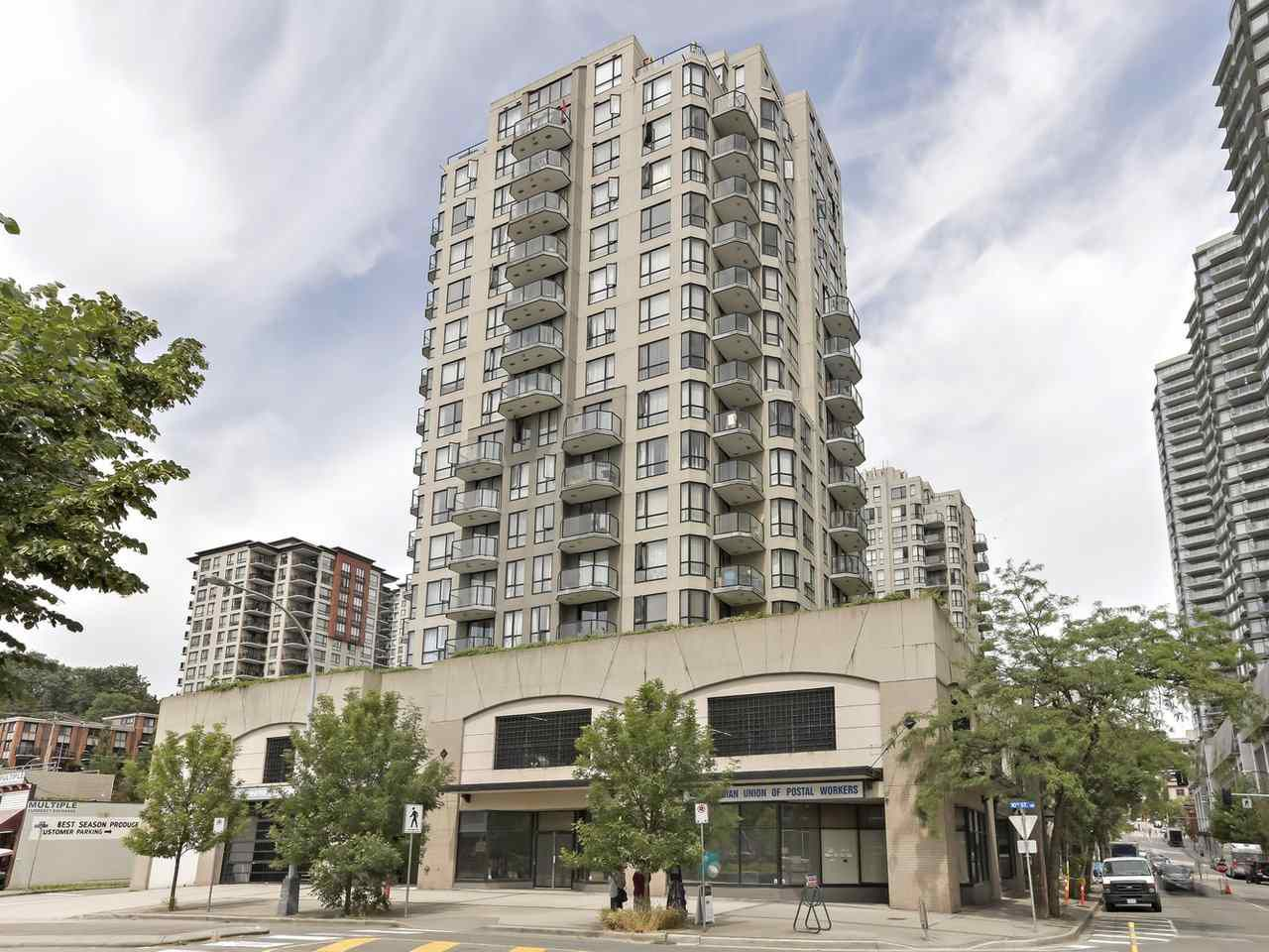 """Main Photo: 1001 55 TENTH Street in New Westminster: Downtown NW Condo for sale in """"WESTMINSTER TOWERS"""" : MLS®# R2380852"""