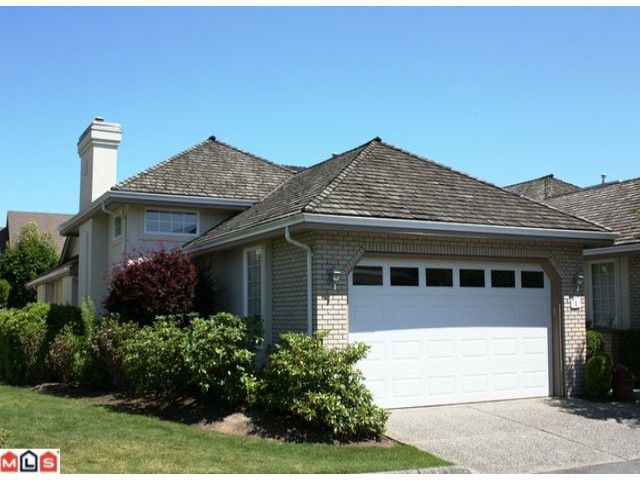 """Main Photo: 1 31450 SPUR Avenue in Abbotsford: Abbotsford West Townhouse for sale in """"LAKEPOINTE VILLAS"""" : MLS®# F1117277"""
