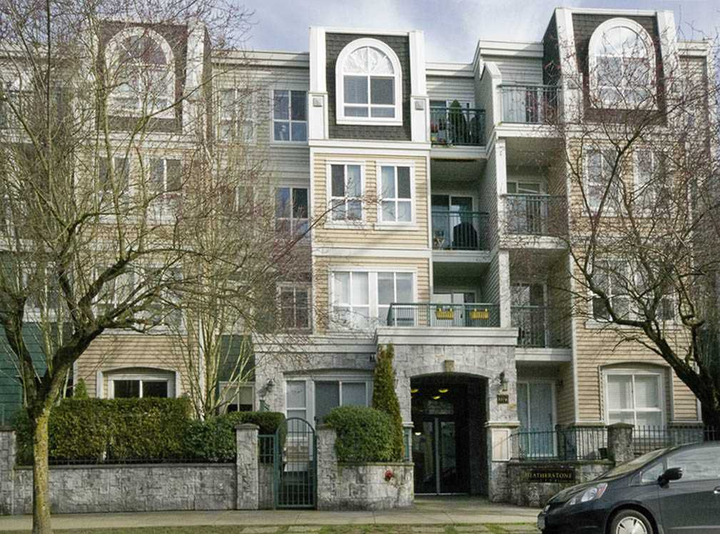 """Main Photo: 314 3278 HEATHER Street in Vancouver: Cambie Condo for sale in """"Heatherstone"""" (Vancouver West)  : MLS®# R2069955"""