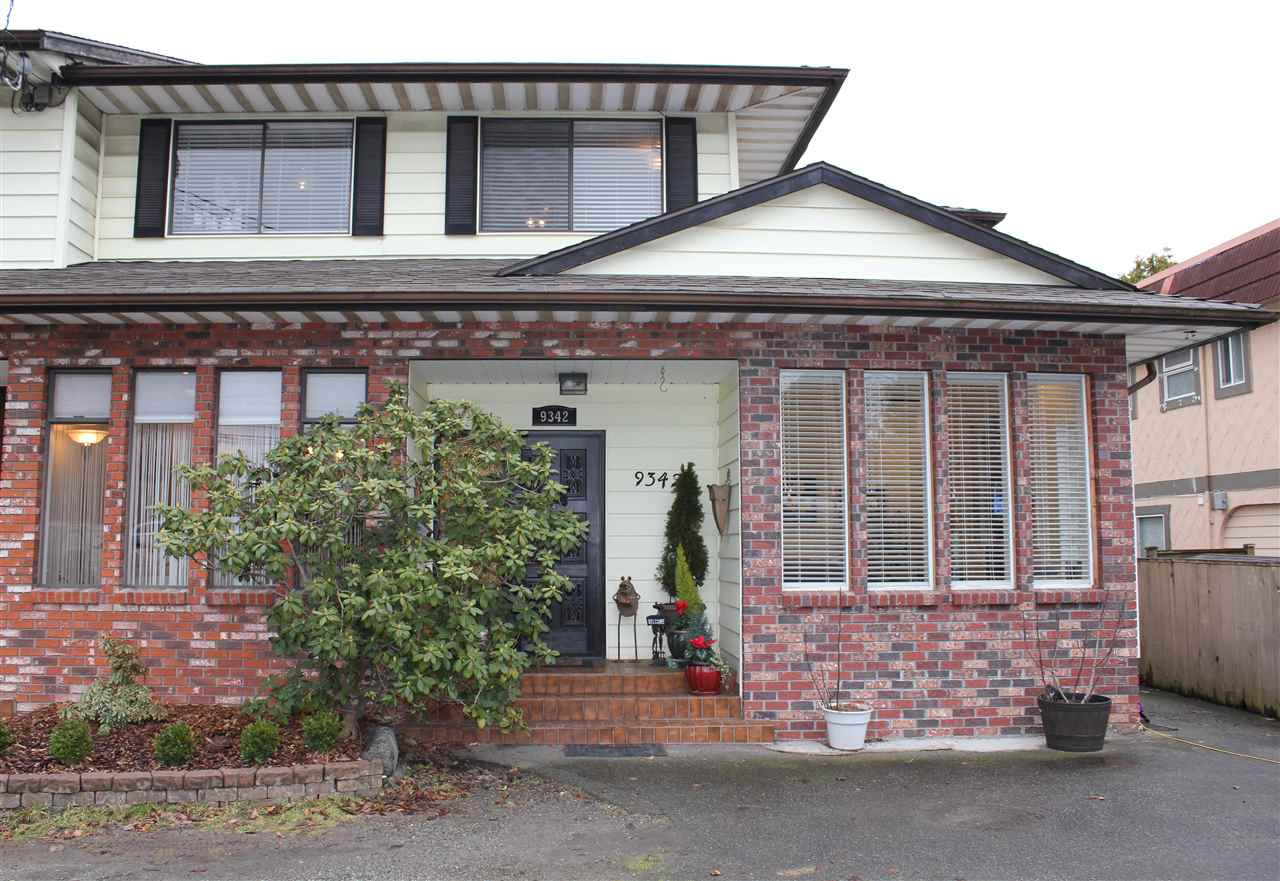 Main Photo: 9342 NO 2 Road in Richmond: Woodwards House 1/2 Duplex for sale : MLS®# R2135193