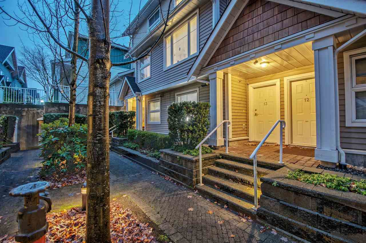 "Main Photo: 13 168 SIXTH Street in New Westminster: Uptown NW Townhouse for sale in ""Royal City Terrace"" : MLS®# R2223293"
