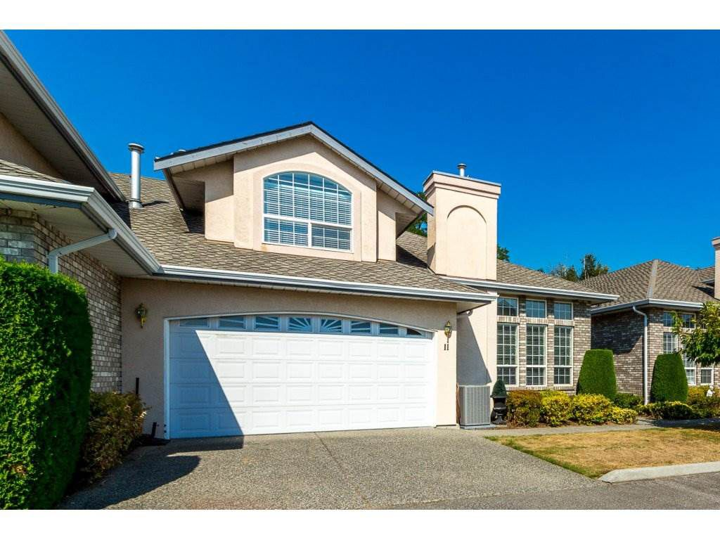 "Main Photo: 11 31445 UPPER MACLURE Road in Abbotsford: Abbotsford West Townhouse for sale in ""Ponderosa Heights"" : MLS®# R2303169"