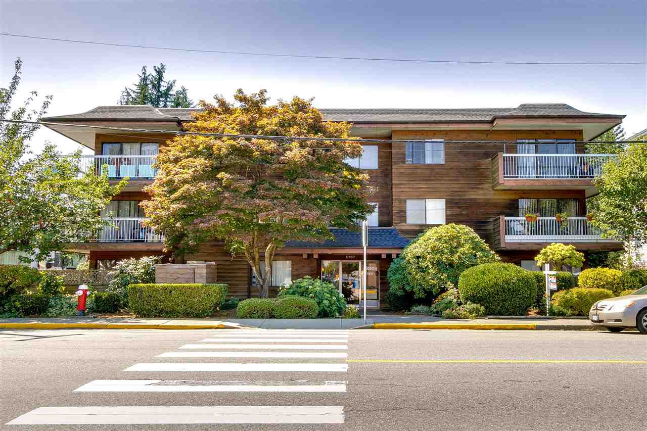 "Main Photo: 307 11957 223 Street in Maple Ridge: West Central Condo for sale in ""ALOUETTE APARTMENTS"" : MLS®# R2324442"