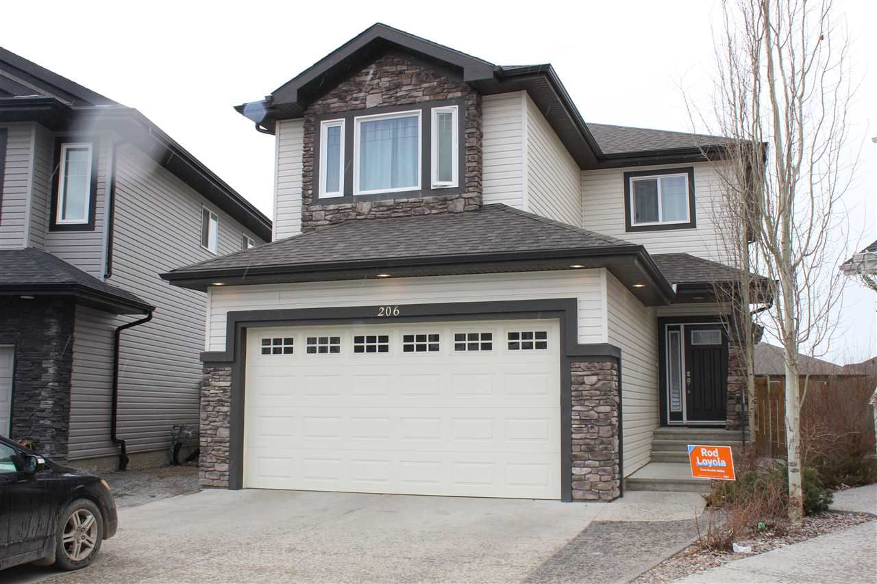 Main Photo: 206 51A Street SW in Edmonton: Zone 53 House for sale : MLS®# E4154728