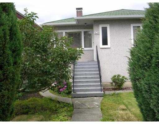 Main Photo: 2459 E 24TH AV in Vancouver: Renfrew Heights House for sale (Vancouver East)  : MLS®# V547621