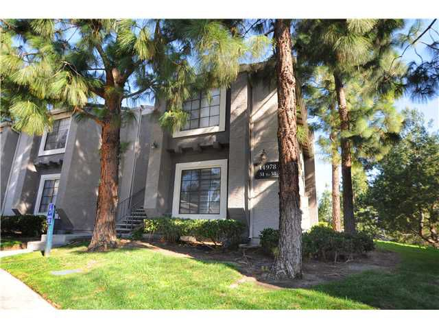 Main Photo: CARMEL MOUNTAIN RANCH Home for sale or rent : 1 bedrooms : 14978 Avenida Venusto #57 in San Diego