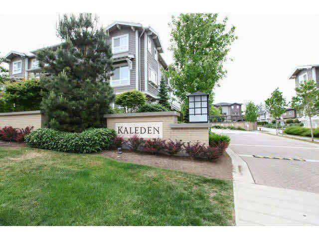 "Main Photo: 53 2729 158 Street in Surrey: Grandview Surrey Townhouse for sale in ""Kaleden"" (South Surrey White Rock)  : MLS®# F1441749"