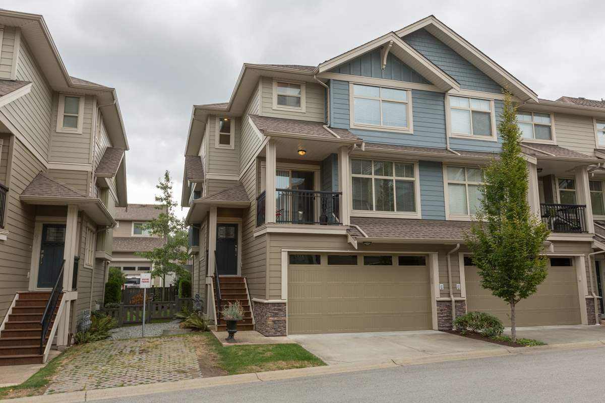 """Main Photo: 66 22225 50 Avenue in Langley: Murrayville Townhouse for sale in """"Murrays Landing"""" : MLS®# R2105712"""