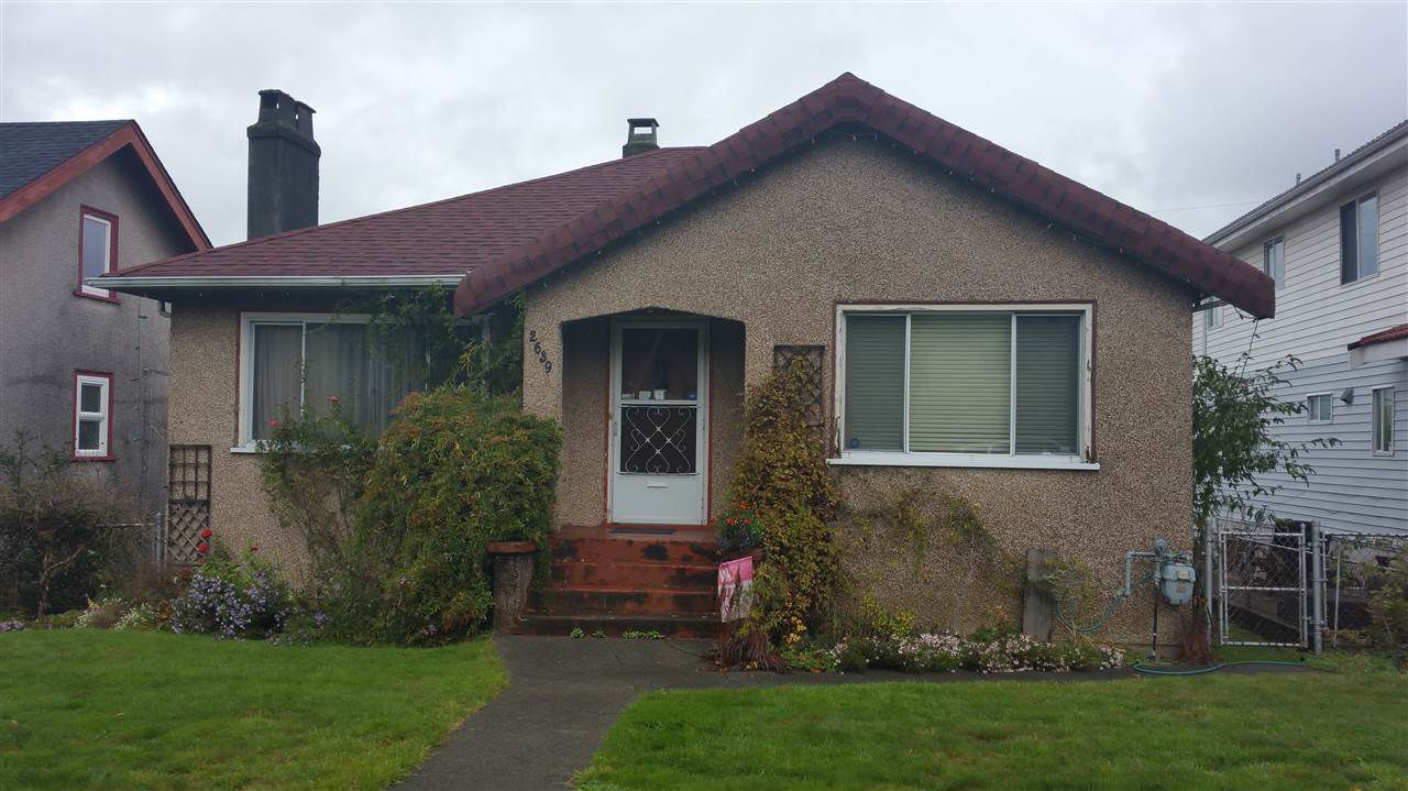 Main Photo: 2639 E 4TH Avenue in Vancouver: Renfrew VE Home for sale (Vancouver East)  : MLS®# R2119773