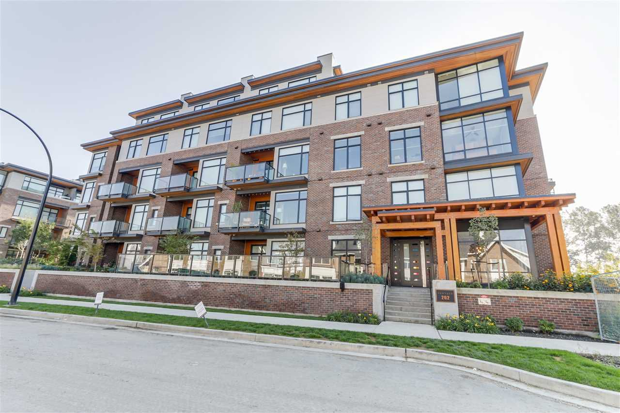 Main Photo: 105 262 SALTER Street in New Westminster: Queensborough Condo for sale : MLS®# R2155950