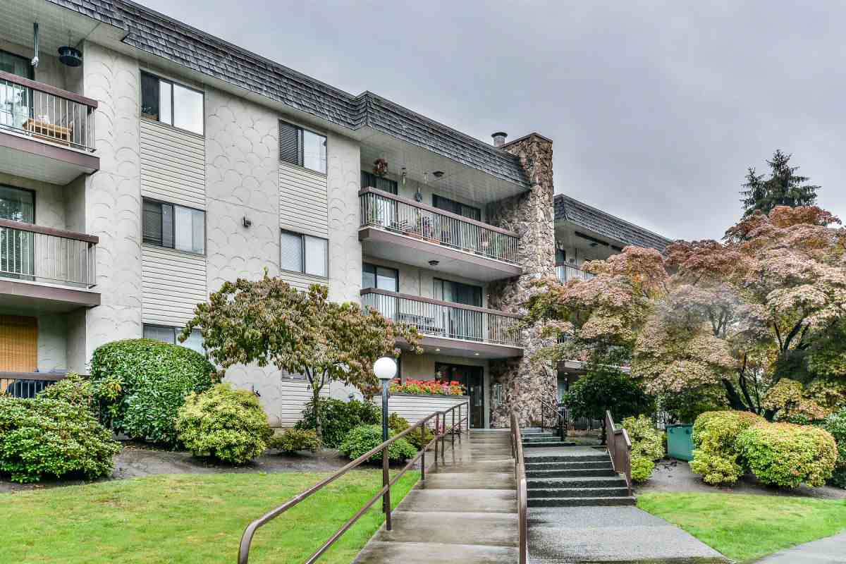"Main Photo: 111 2381 BURY Avenue in Port Coquitlam: Central Pt Coquitlam Condo for sale in ""Riverside Manor"" : MLS®# R2227479"