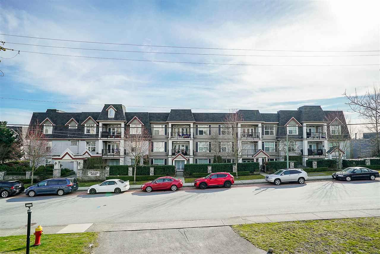 "Main Photo: 306 976 ADAIR Avenue in Coquitlam: Maillardville Condo for sale in ""Orlean's Ridge"" : MLS®# R2246999"