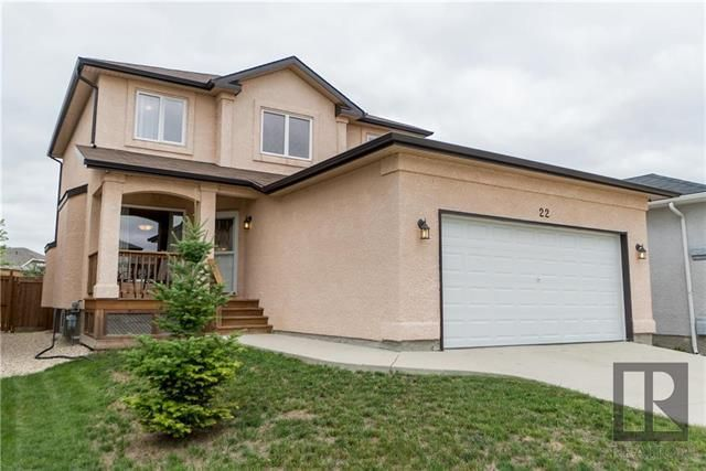 Main Photo: 22 Brookland Bay in Winnipeg: South Pointe Residential for sale (1R)  : MLS®# 1821047