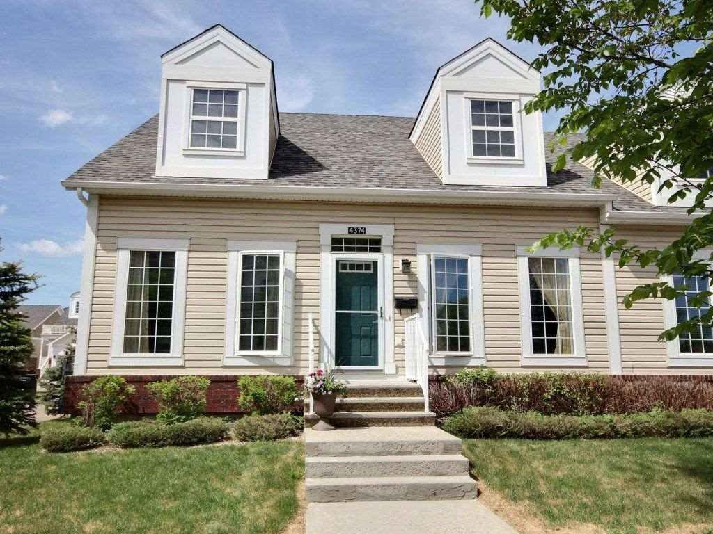 Main Photo: 4374 Veterans Way in Edmonton: Zone 27 House Half Duplex for sale : MLS®# E4131298