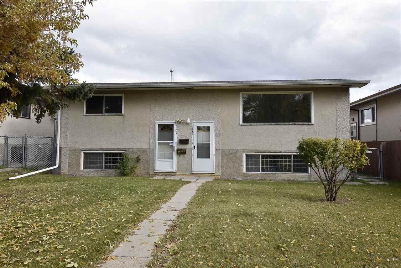Main Photo: 12943 123 Street in Edmonton: Zone 01 House Duplex for sale : MLS®# E4139033