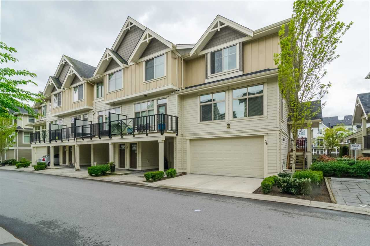 "Main Photo: 28 19525 73 Avenue in Surrey: Clayton Townhouse for sale in ""Up Town 2"" (Cloverdale)  : MLS®# R2332916"