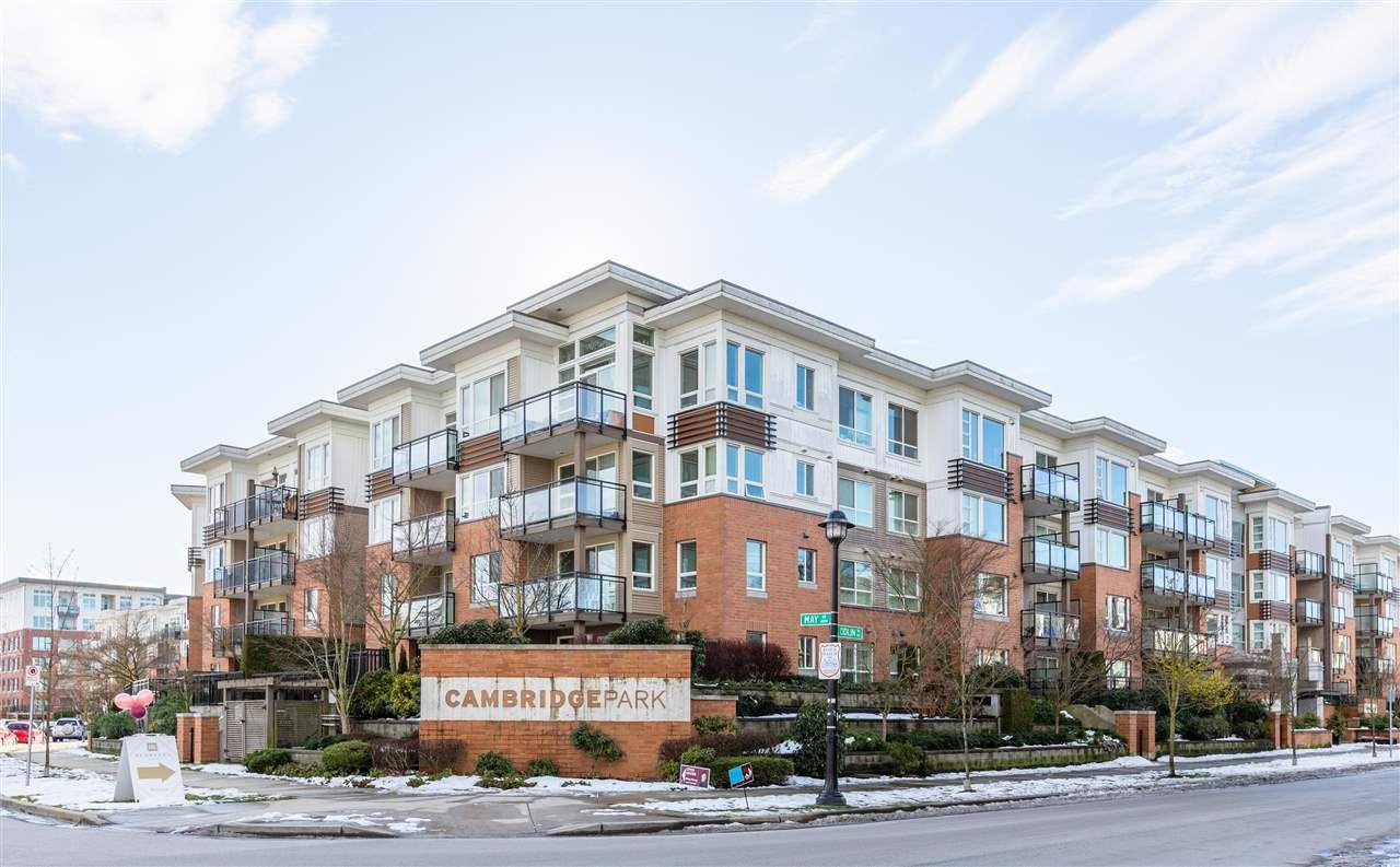 "Main Photo: 235 9500 ODLIN Road in Richmond: West Cambie Condo for sale in ""CAMBRIDGE PARK"" : MLS®# R2352252"