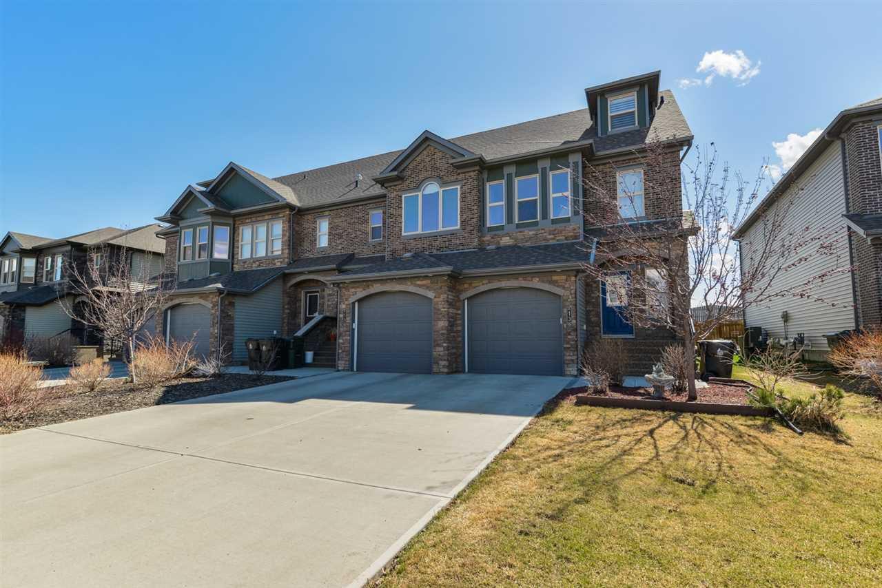 Main Photo: 13 GREENBURY Close: Spruce Grove Attached Home for sale : MLS®# E4153691