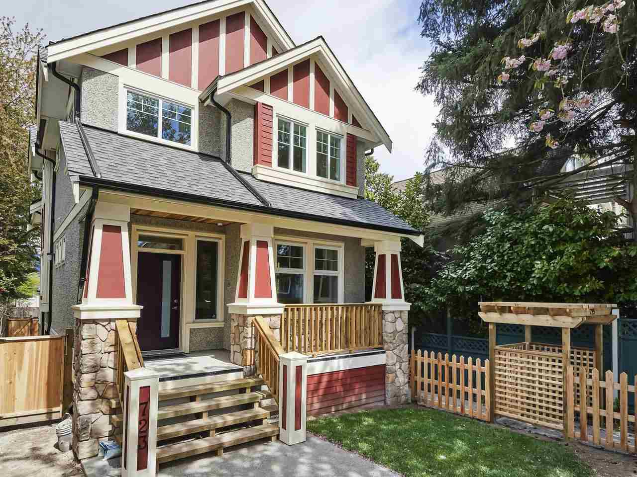 Main Photo: 723 E 13TH Avenue in Vancouver: Mount Pleasant VE House 1/2 Duplex for sale (Vancouver East)  : MLS®# R2365372