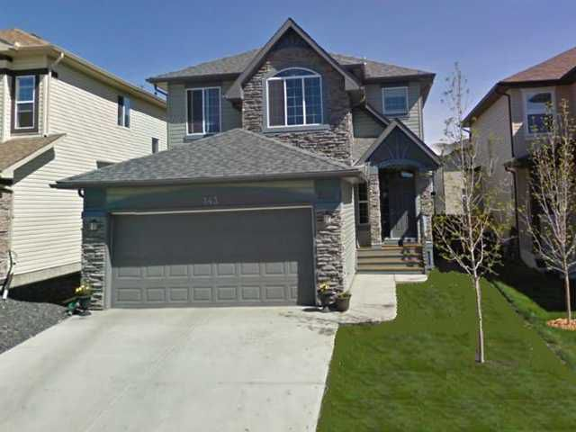 Main Photo: 143 EVEROAK Close SW in CALGARY: Evergreen Residential Detached Single Family for sale (Calgary)  : MLS®# C3498309
