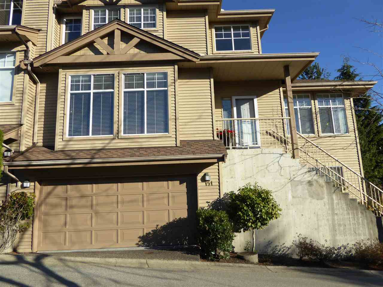 "Main Photo: 151 2979 PANORAMA Drive in Coquitlam: Westwood Plateau Townhouse for sale in ""DEERCREST"" : MLS®# R2017095"