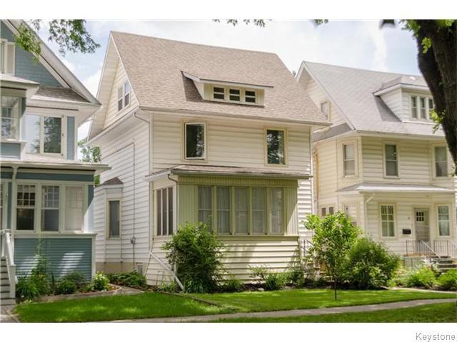 Main Photo: 93 Arlington Street in Winnipeg: West End / Wolseley Residential for sale (West Winnipeg)  : MLS®# 1617427