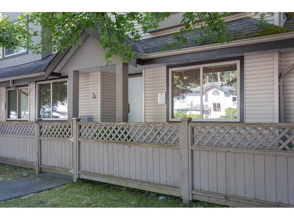 "Main Photo: 36 11860 210TH Street in Maple Ridge: Southwest Maple Ridge Townhouse for sale in ""Westside Court"" : MLS®# R2190305"