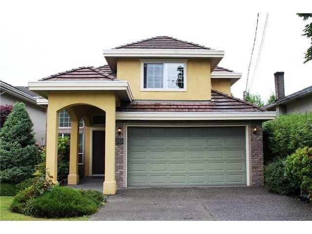 Main Photo: 5253 MAPLE Road in Richmond: Lackner House for sale : MLS®# V1050498
