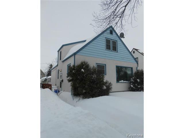 Main Photo: 813 Dominion Street in WINNIPEG: West End / Wolseley Residential for sale (West Winnipeg)  : MLS®# 1404052