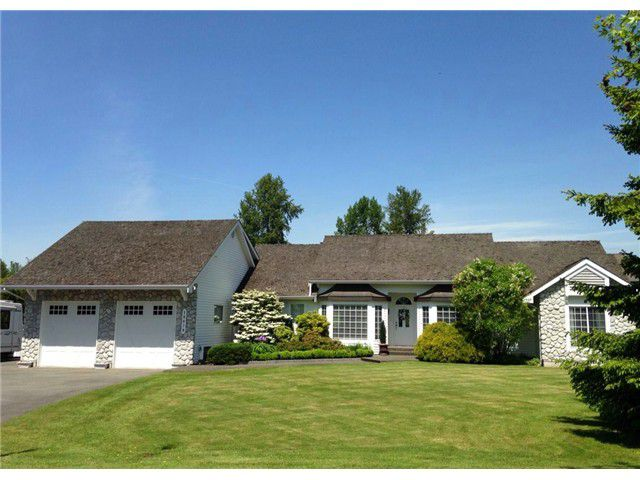 """Main Photo: 18039 68TH Avenue in Surrey: Cloverdale BC House for sale in """"NORTH CLOVERDALE WEST"""" (Cloverdale)  : MLS®# F1412711"""