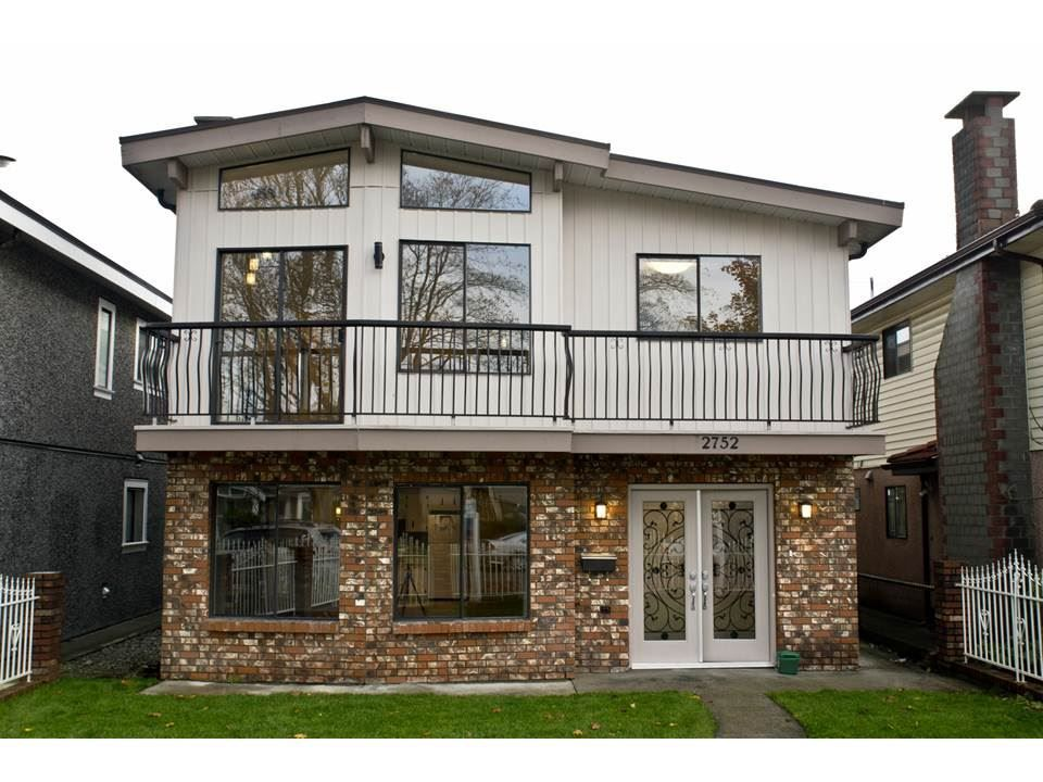 Main Photo: 2752 GRANT Street in Vancouver: Renfrew VE House for sale (Vancouver East)  : MLS®# R2013991