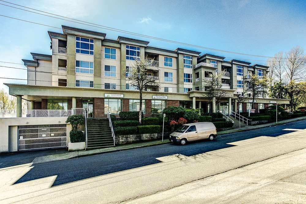 """Main Photo: 404 22230 NORTH Avenue in Maple Ridge: West Central Condo for sale in """"SOUTHRIDGE TERRACE"""" : MLS®# R2040890"""
