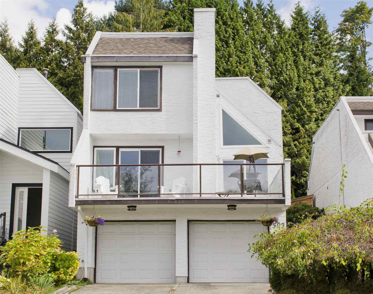 Main Photo: 503 SAN REMO Drive in Port Moody: North Shore Pt Moody House for sale : MLS®# R2110772