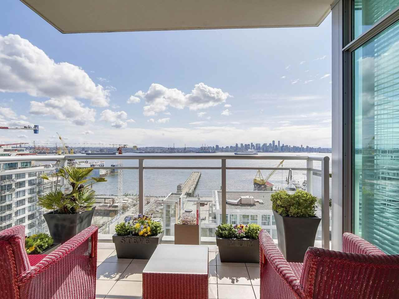 """Main Photo: 1402 138 E ESPLANADE in North Vancouver: Lower Lonsdale Condo for sale in """"PREMIER AT THE PIER"""" : MLS®# R2161323"""