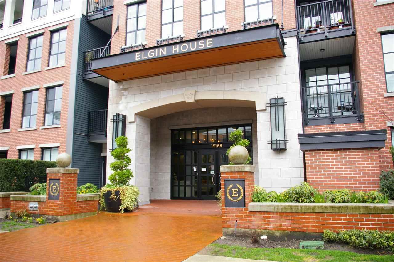 """Main Photo: 419 15168 33 Avenue in Surrey: Morgan Creek Condo for sale in """"ELGIN HOUSE AT HARVARD GARDENS"""" (South Surrey White Rock)  : MLS®# R2251265"""