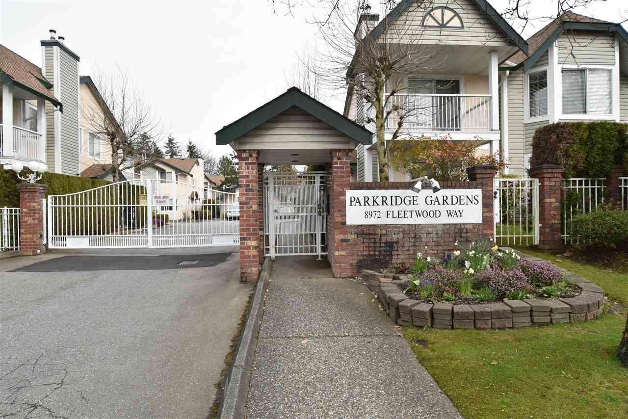 "Main Photo: 402 8972 FLEETWOOD Way in Surrey: Fleetwood Tynehead Townhouse for sale in ""Parkridge Gardens"" : MLS®# R2306698"