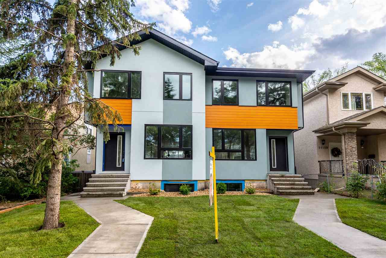 Main Photo: 11155 77 Avenue in Edmonton: Zone 15 House Half Duplex for sale : MLS®# E4145275