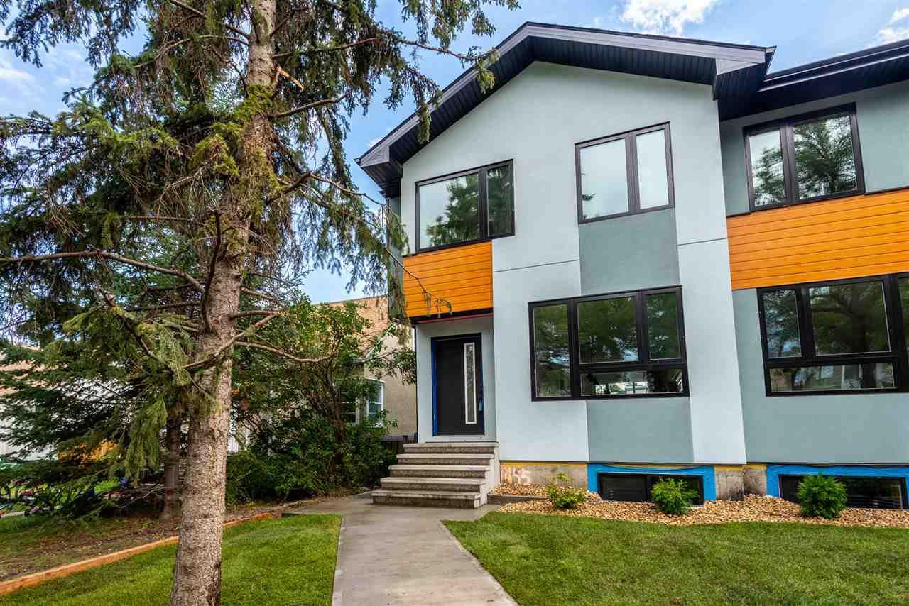 Photo 2: Photos: 11155 77 Avenue in Edmonton: Zone 15 House Half Duplex for sale : MLS®# E4145275