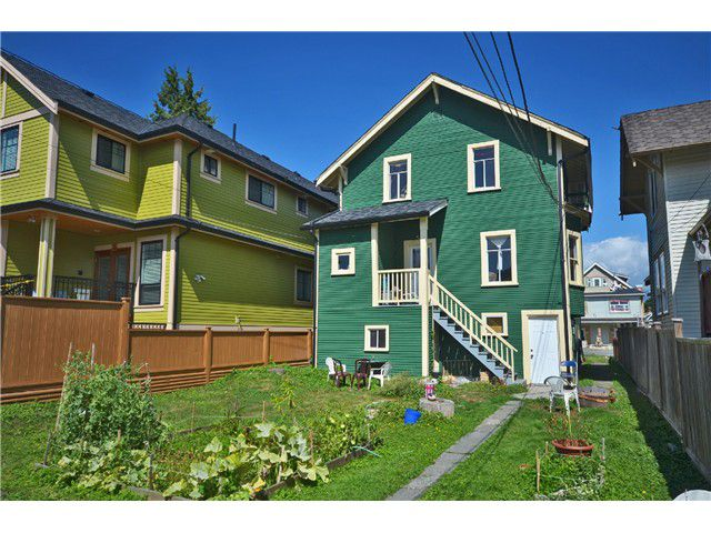Photo 18: Photos: 1132 E 12TH AV in Vancouver: Mount Pleasant VE House for sale (Vancouver East)  : MLS®# V1023872
