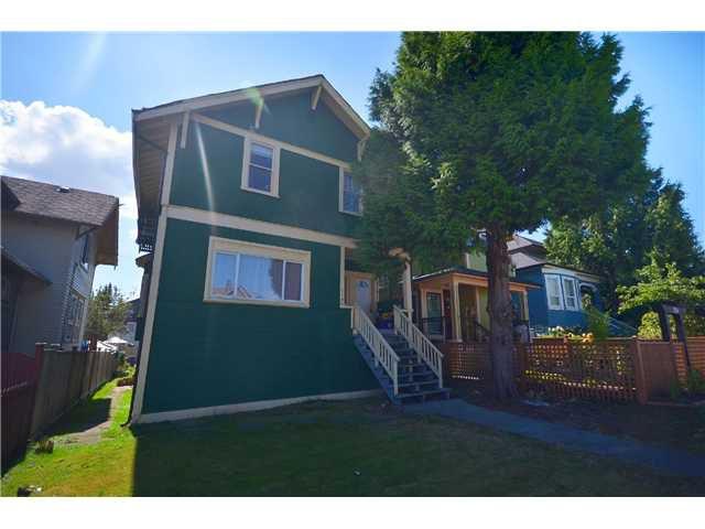 Main Photo: 1132 E 12TH AV in Vancouver: Mount Pleasant VE House for sale (Vancouver East)  : MLS®# V1023872