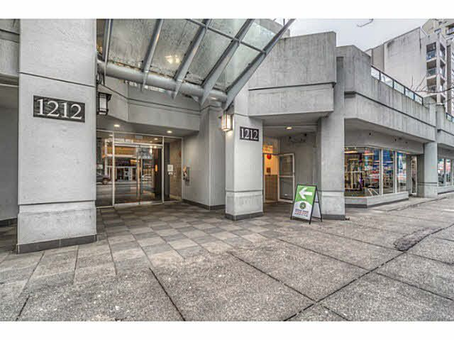 Main Photo: 1407 1212 HOWE Street in Vancouver: Downtown VW Condo for sale (Vancouver West)  : MLS®# V1100198