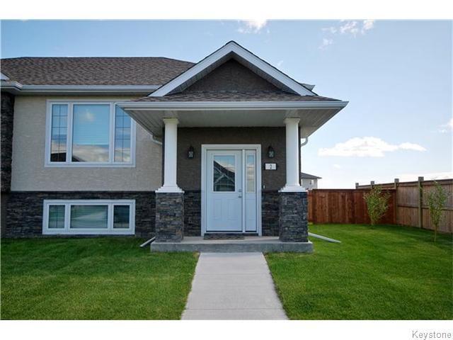Main Photo: 2 Cambridge Way in NIVERVILLE: Glenlea / Ste. Agathe / St. Adolphe / Grande Pointe / Ile des Chenes / Vermette / Niverville Residential for sale (Winnipeg area)  : MLS®# 1520224