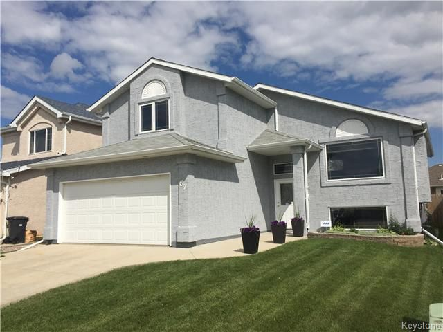 Main Photo: 87 Novara Drive in Winnipeg: West Kildonan / Garden City Residential for sale (North West Winnipeg)  : MLS®# 1618812
