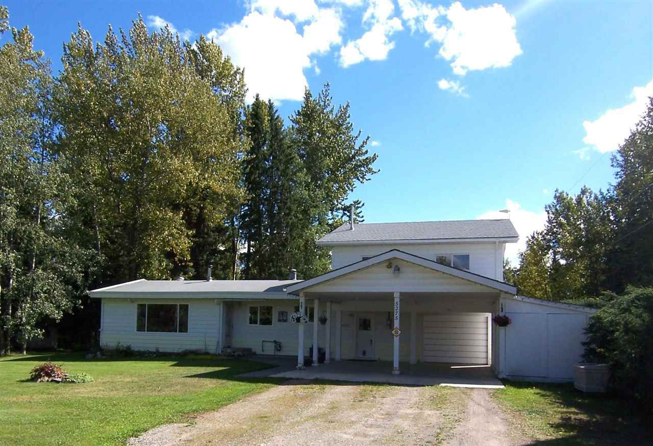 """Main Photo: 5275 SALMON VALLEY Road: Salmon Valley House for sale in """"SALMON VALLEY"""" (PG Rural North (Zone 76))  : MLS®# R2101960"""