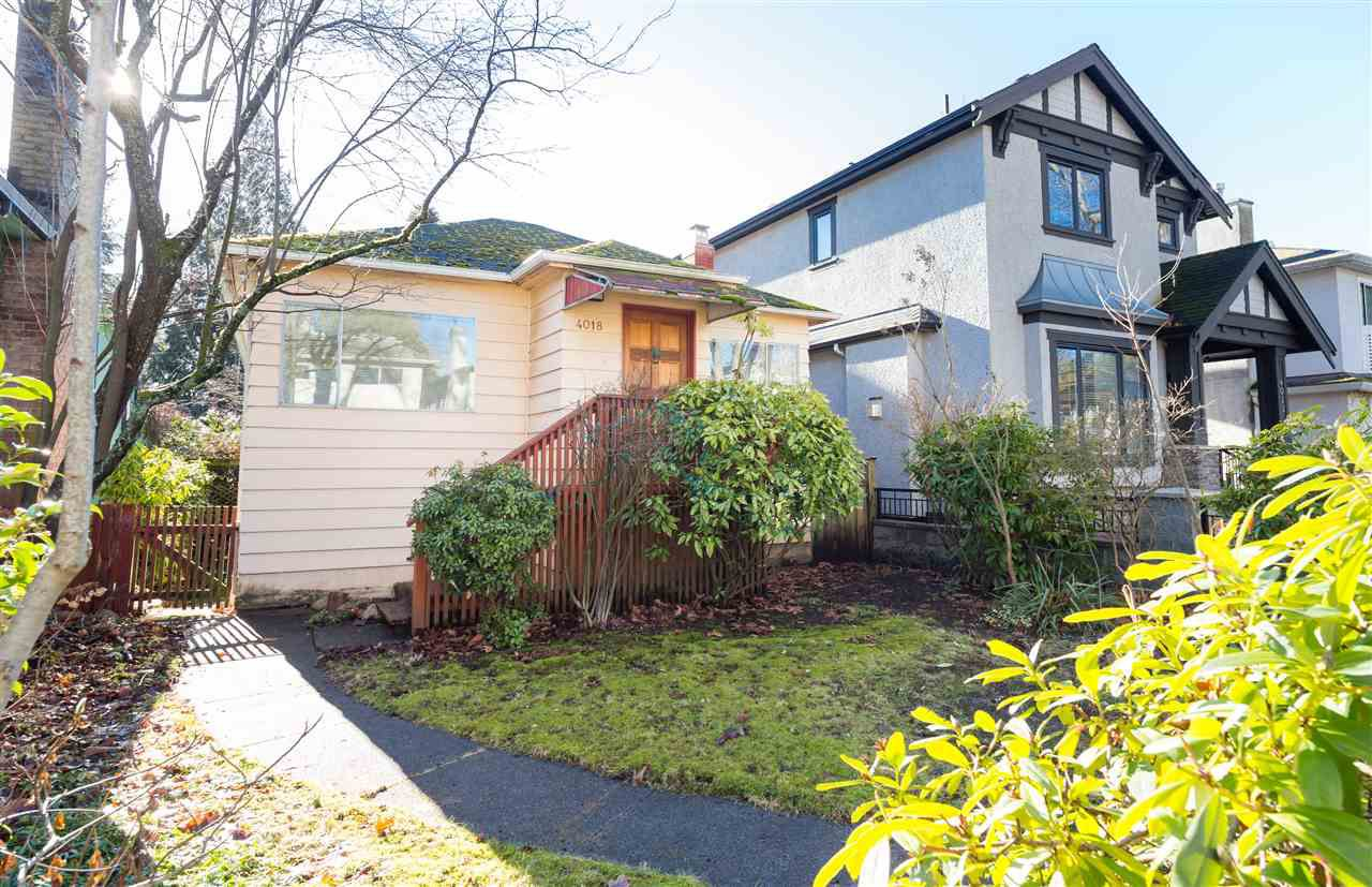 Main Photo: 4018 W 32ND Avenue in Vancouver: Dunbar House for sale (Vancouver West)  : MLS®# R2135092